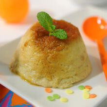 Pudding de naranja