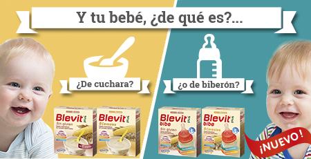Cualquier opción es buena con BLEVIT, porque ahora también tienes el nuevo BLEVIT plus bibe. ¡Descúbrelo!