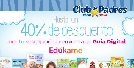 ¡Hasta un 40% de descuento por tu suscripción Premium a la Guía Digital Edúkame!