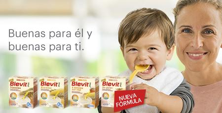 Descubre las nuevas papillas Blevit, con menos azúcares, más fibra y el delicioso sabor de siempre