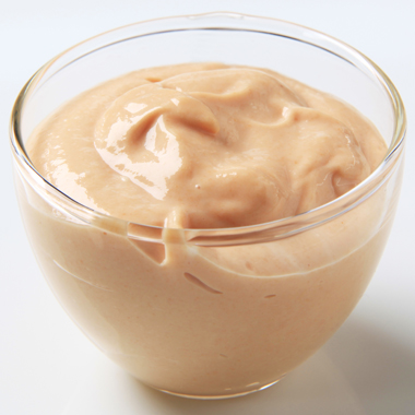 Salsa Rosa Light con aceite hipocalórico