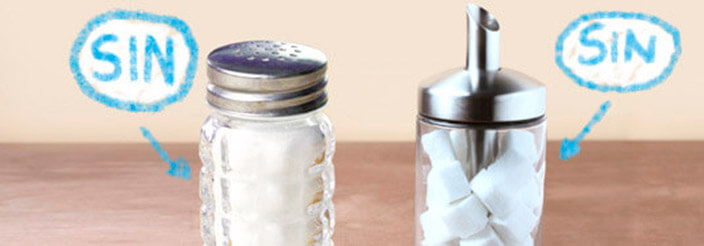 Mejor sin azúcar y sin sal