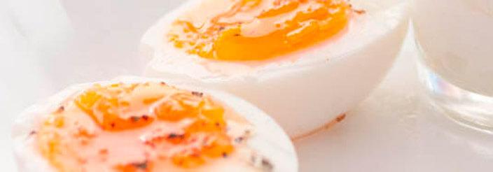 Huevos en una dieta sana