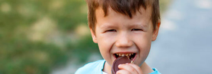 ¿Cuándo empezar con el chocolate?