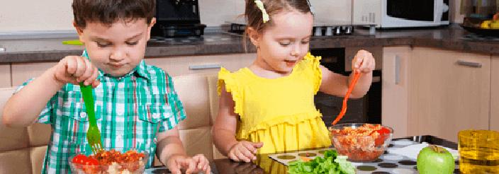 Controlar el peso en la infancia