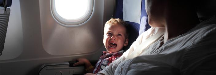 ¡Su primer viaje en avión!