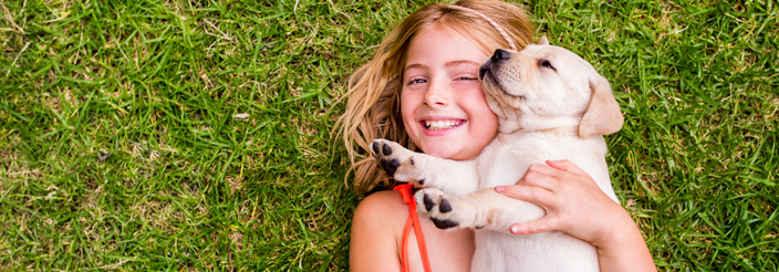 Beneficios de tener una mascota para los niños