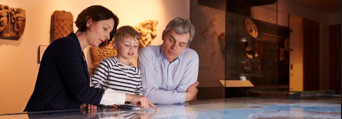 ¿Cuándo llevar a tu hijo a un museo?
