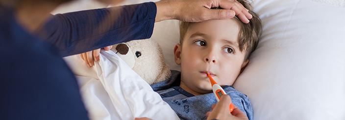 ¿Cómo cuidar al niño enfermo?
