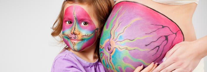 Belly Painting o arte en la tripita