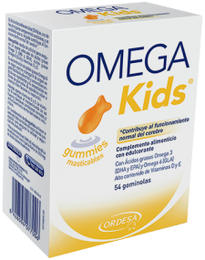 OmegaKids gummies masticables